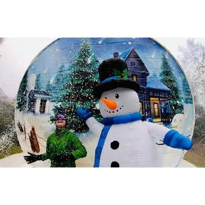 Dmuchana śnieżna kula do wynajęcia