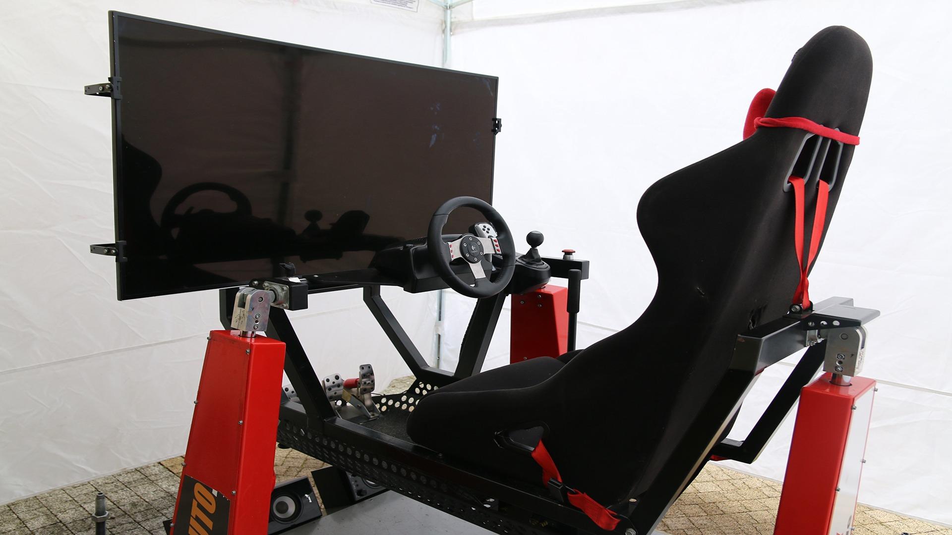 Ruchomy symulator WRC wynajem