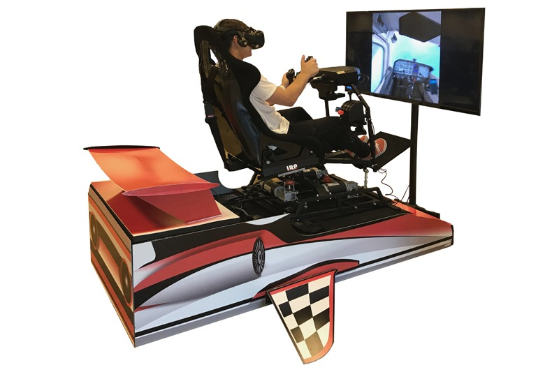 Symulator lotu VR 3DOF wynajem