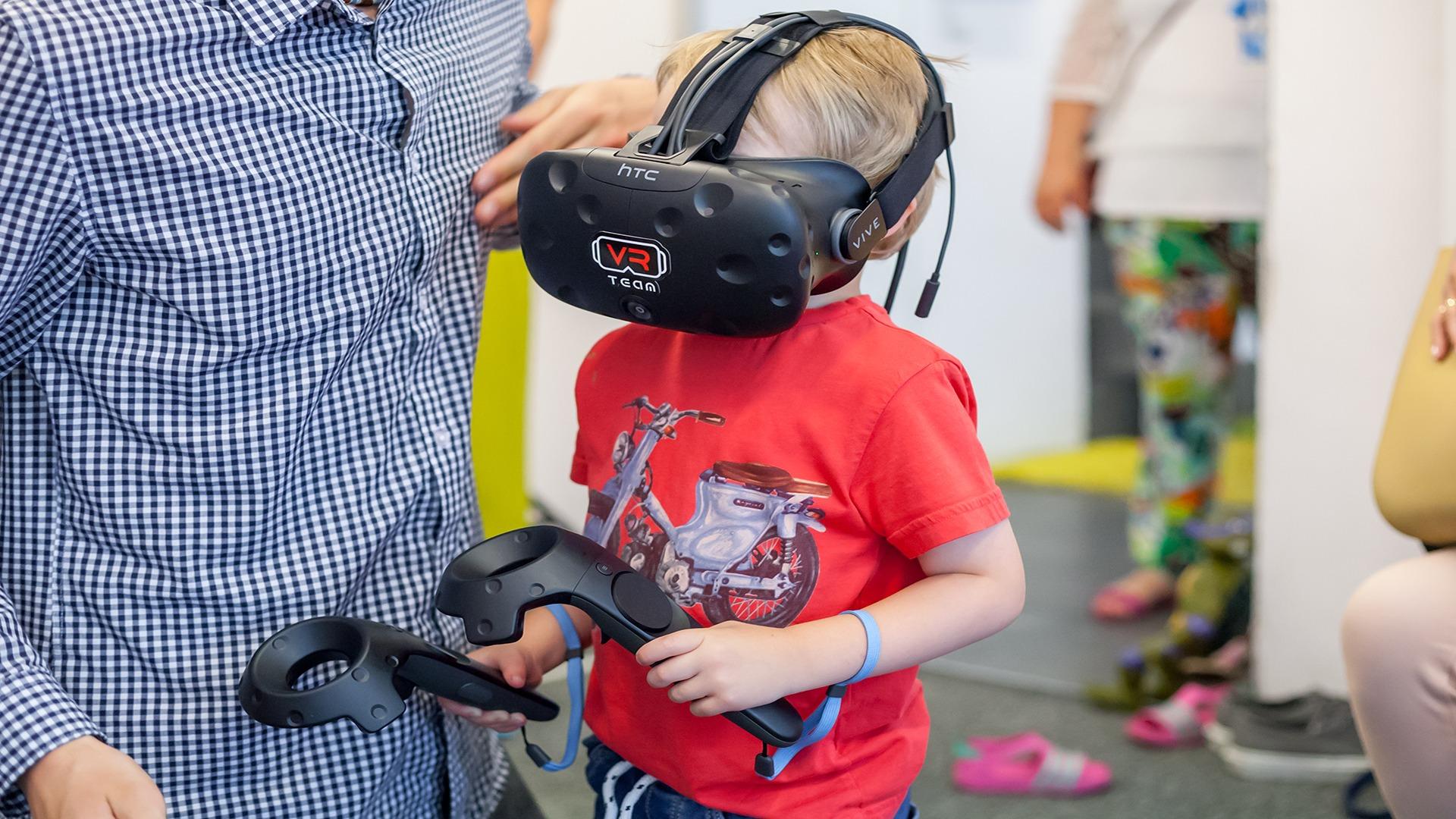 Gogle VR dla dzieci - wypożyczalnia atrakcji
