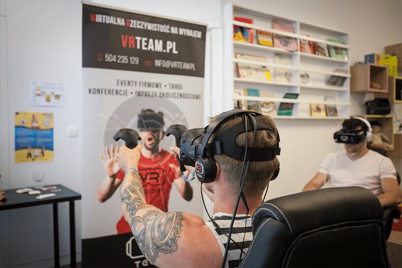 Gogle VR do wynajęcia na event