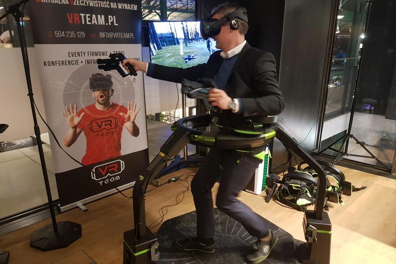 Virtuix Omni bieżnia VR wynajem