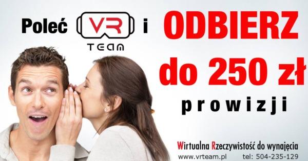 Polec VRTeam VR wirtualna rzeczywistość - wynajem