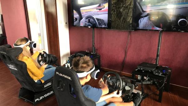 Symulator rajdowy VR do wynajęcia