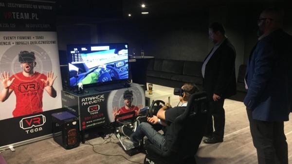 Symulator rajdowy VR wynajem Warszawa
