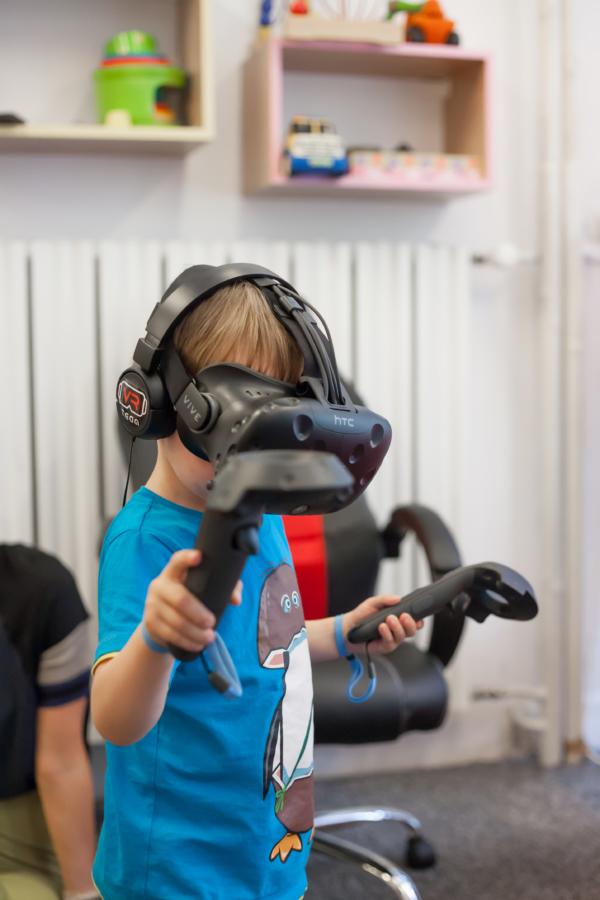 Okulary VR - wynajem Warszawa na urodziny