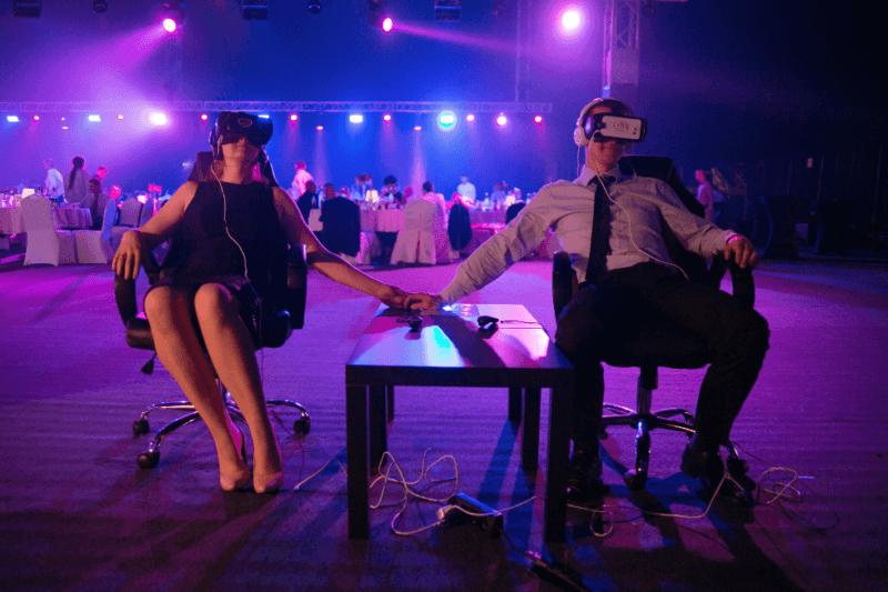 Wirtualna rzeczywistość na wynajem - atrakcje na wesele