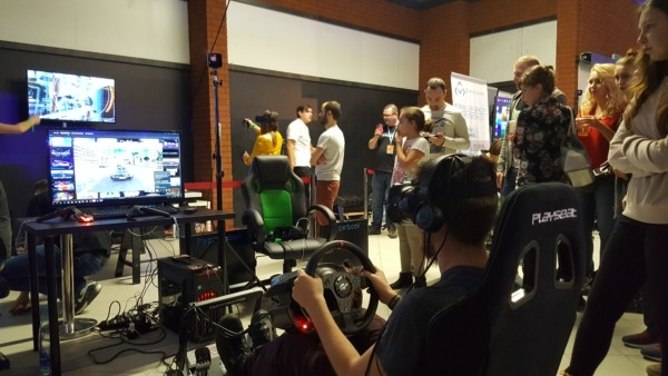Symulator F1 VR - pomysł na event