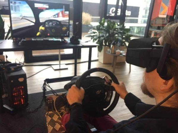 Symulator rajdowy samochodowy F1 Vr wynajem
