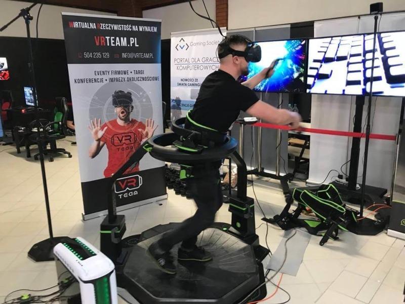 Bieżnia VR wynajem