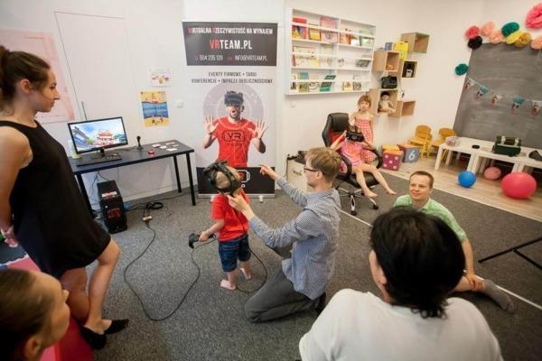 Eventy dla dzieci atrakcje VR wynajem