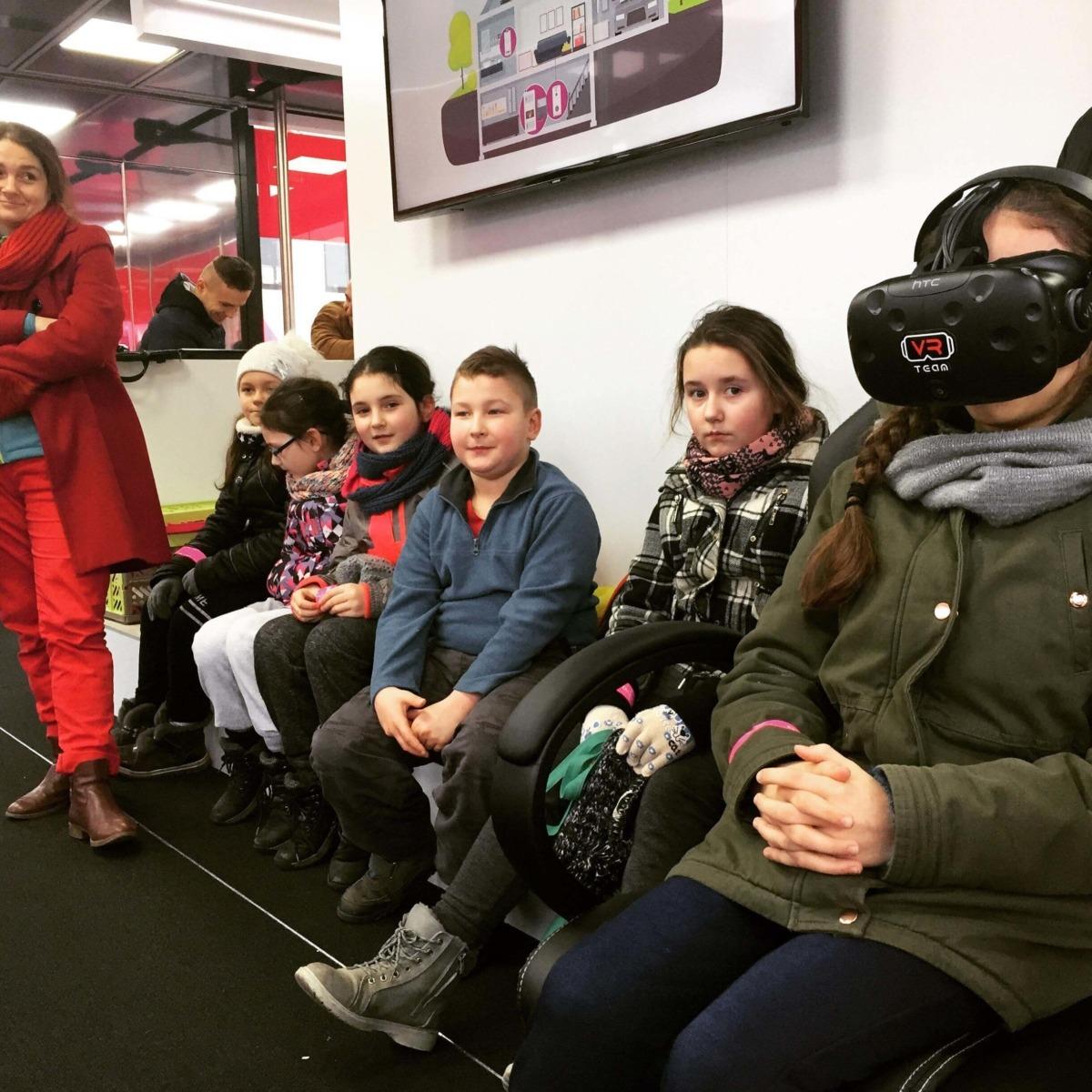 Gogla VR - atrakcja na event