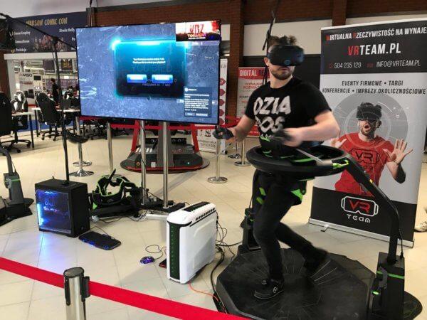 Bieżnia VR Virtuix Omni - wynajem