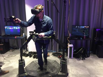 Bieżnia Virtuix Omni VR do wynajęcia