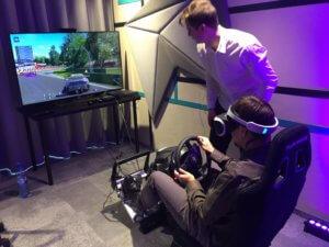 Symulator wyścigowy VR do wynajęcia