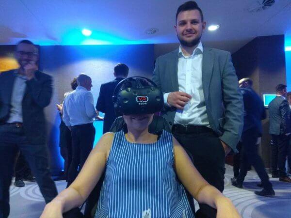Wirtualna rzeczywistośćgogle VR wynajem event