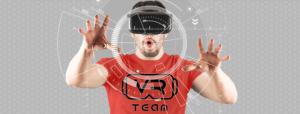 Gogle VR, bieżnia Virtuix Omni, Symulator rajdowy, Konsole wynajem