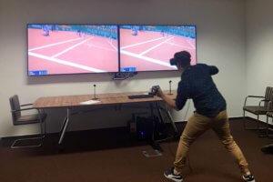 Konkurs Tenis VR wynajem gogle Wirtualna rzeczywistość