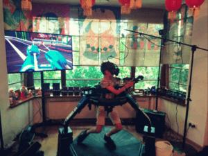Bieżnia VR chodzenie po grach Virtuix Omni Wynajem
