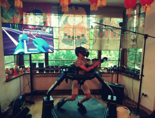 Realizacja – platforma VR Virtuix Omni na imprezę urodzinową