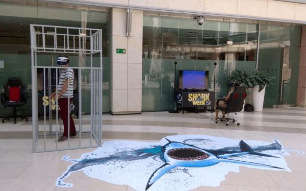 Nurkowanie z rekinami - HTC Vive Pro