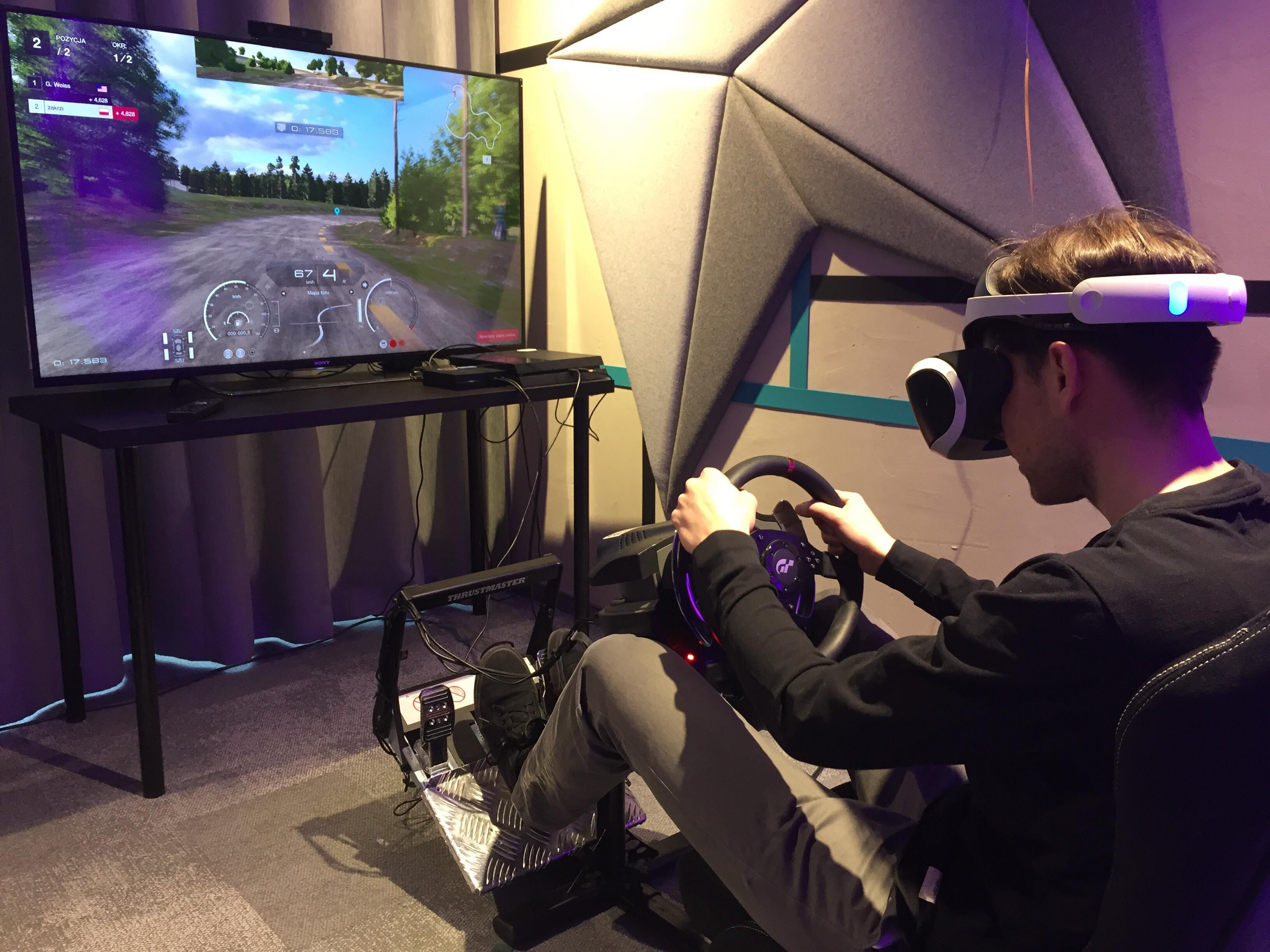 Symulator wyścigów do wynajęcia