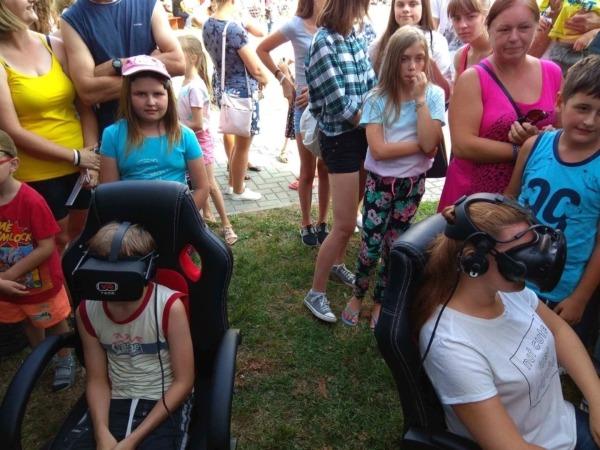 Gogle vr HTC Vive Oculus Rift na piknik i imprezę plenerową