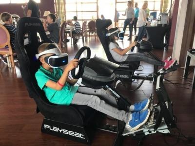 Statyczny symulator rajdowy VR