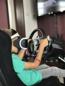 symulator rajdowy VR na wynajem