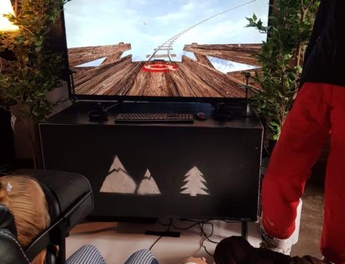 Zimowe atrakcje: gogle VR z zimowymi grami do wynajęcia