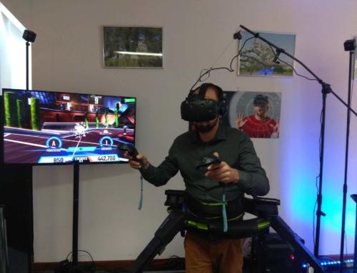 Wynajem- bieżnia VR Virtuix Omni na event