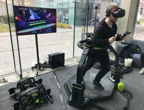 Atrakcje na event: gogle VR do wynajęcia i bieżnia VR Virtuix Omni