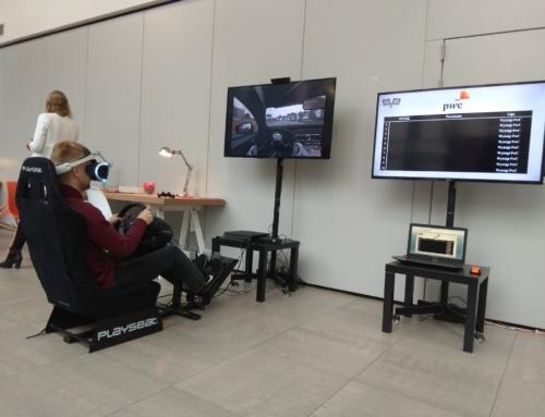 Realizacja: gogle VR, konsole, symulator rajdowy VR na targi kariery
