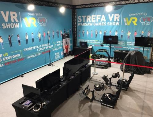 Realizacja: Gogle VR wynajem na Warsaw Games Show