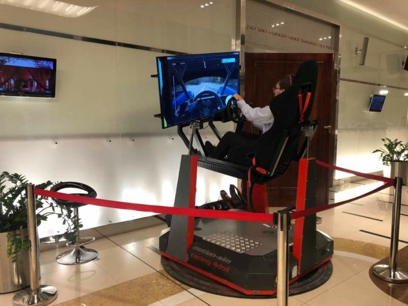 Symulator wyścigów na event