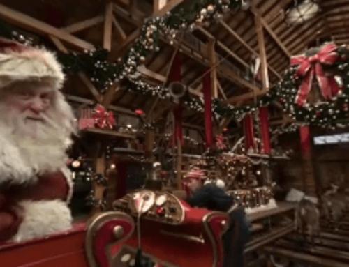 Gogle VR na wynajem w Saniach Świętego Mikołaja!