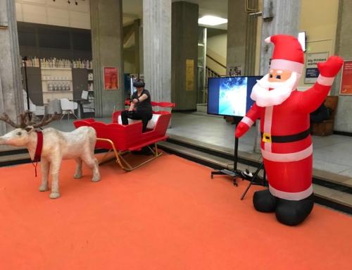 Symulator sań Mikołaja VR do wynajęcia na event