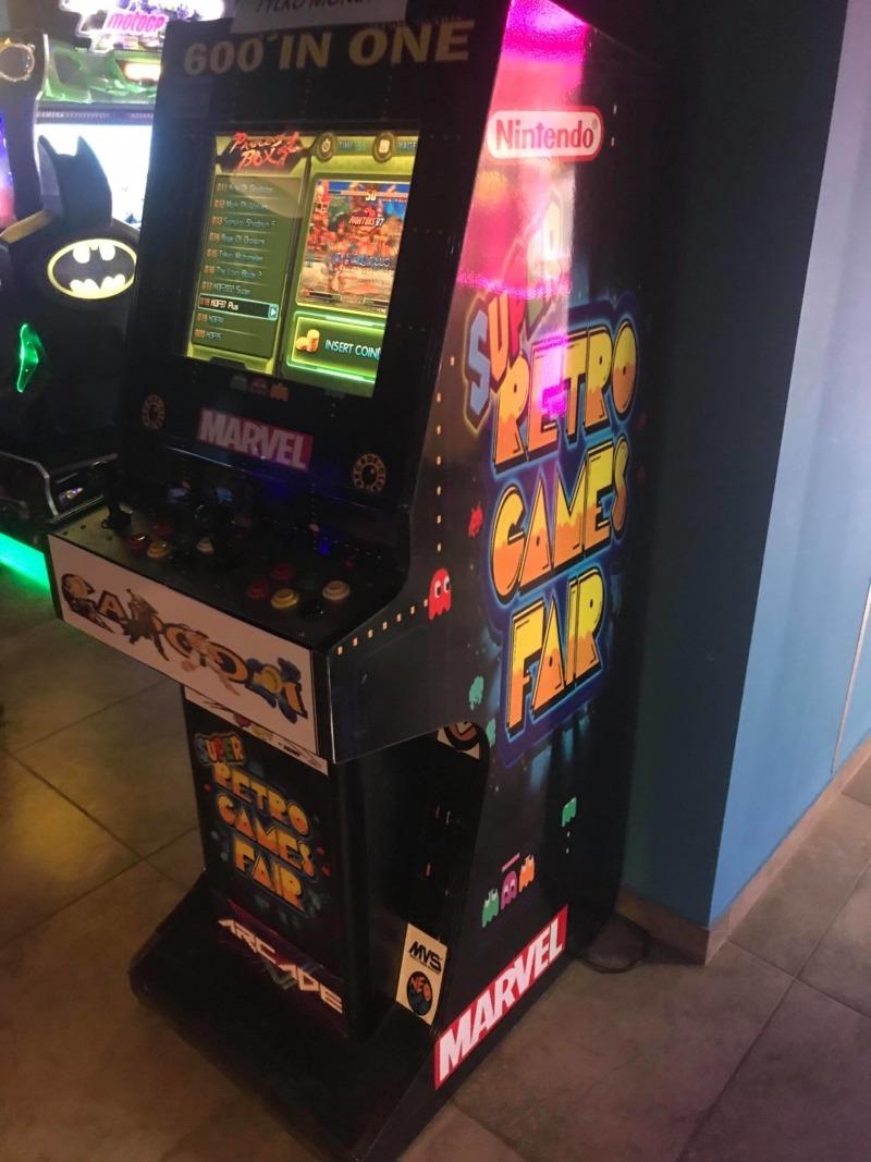 Stojący automat arcade wynajem