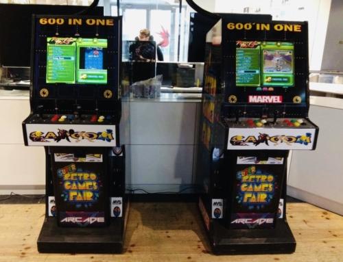 Atrakcje oldschool: automaty arcade, flippery, konsole retro do wynajęcia
