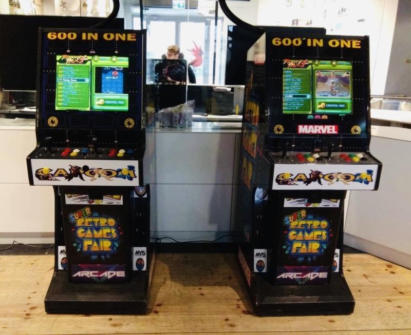 Automaty Arcade wynajem na event