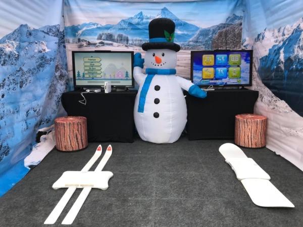 Symulator nart i snowboardu do wynajecia