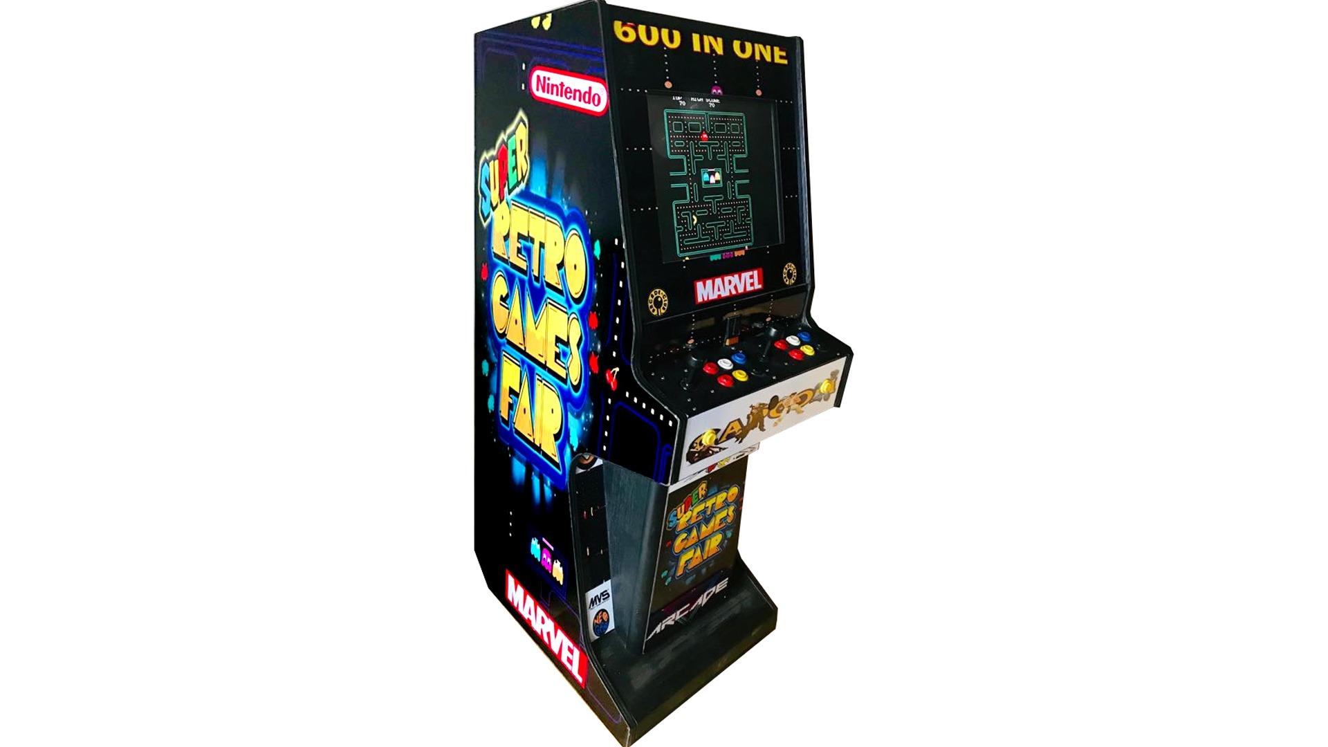 Retro automat arcade wynajem