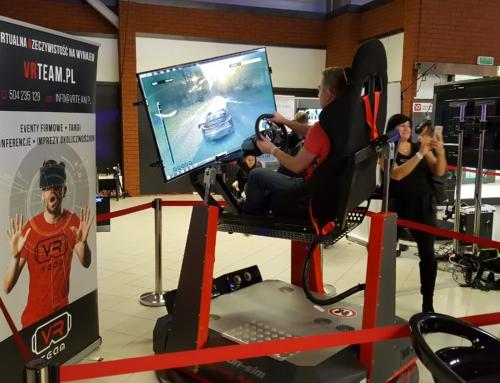 Symulator rajdowy VR i symulator wyścigowy wynajem