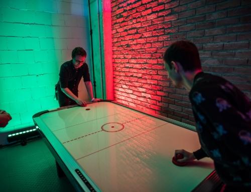 Atrakcje zręcznościowe do wynajęcia: cymbergaj, piłkarzyki