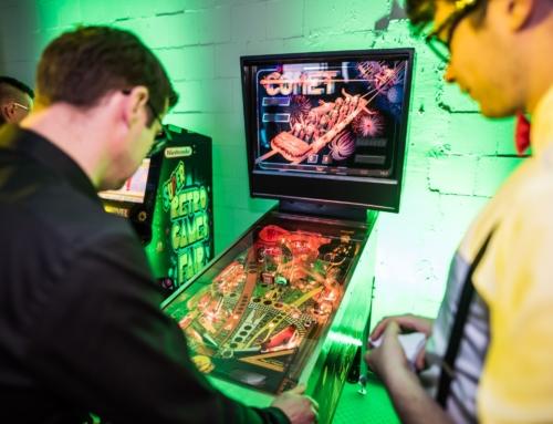 Realizacja: retro event – flippery, automaty arcade, konsole retro, cymbergaj na wynajem