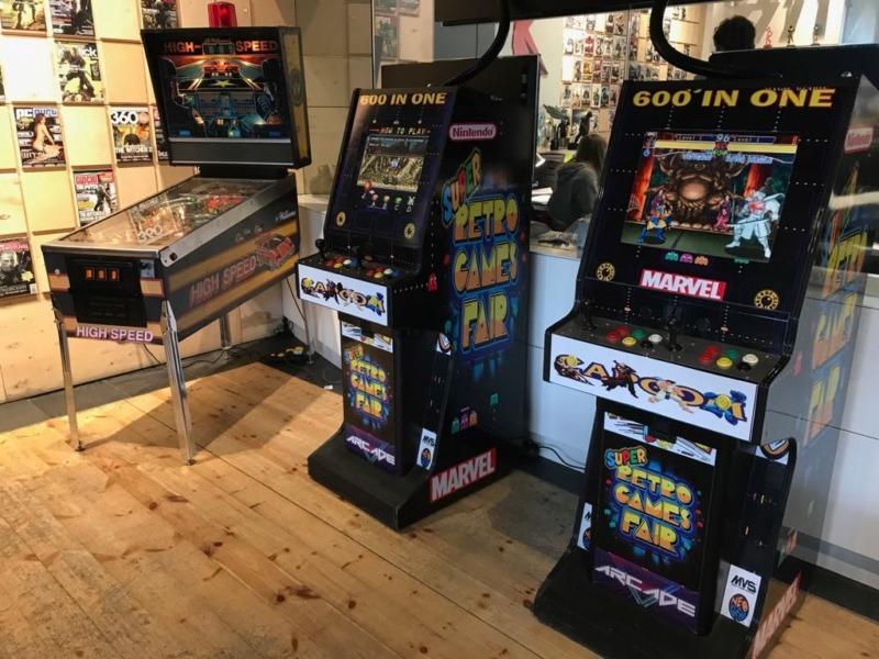 Automaty arcade na wynajem