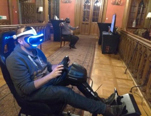 Realizacja: symulator rajdowy VR i gogle VR wynajem na event firmowy