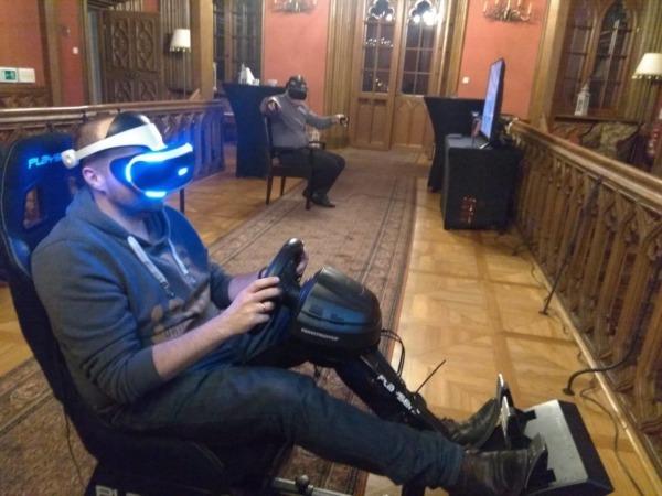 Symulator rajdowy VR wynajem