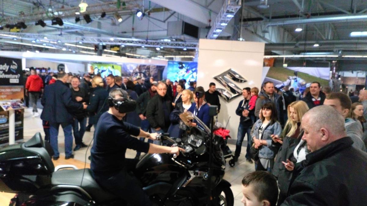 Symulator motocykla do wynajęcia na targi