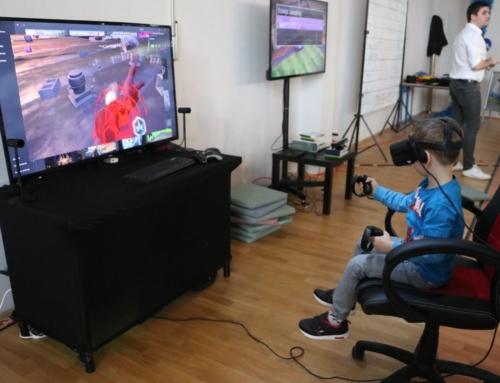 Realizacja: Gogle VR, konsole Xbox 360 kinect wynajem